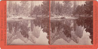 Pompomposos, The Three Brothers, 4480 ft., mirror view, Yosemite