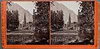 3036 - View on the Merced. Yosemite Valley, Mariposa Co., Cal.