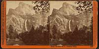 3098 - Bridal Veil from the Black Spring, Yosemite Valley, Mariposa County, Cal.