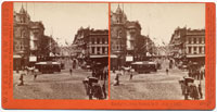 3577 - Kearny St., from Market, S.F., July 4, 1876.