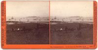 3587 - The Bombardment, View from the Presidio, July 3, 1876.