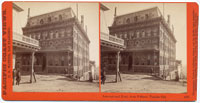 4181 - International Hotel from B St., Virginia City, Nev.