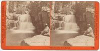 4222 - Cascades at the Soda Springs, Cal.