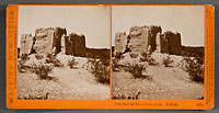 4837 - Casa Grande; Pre-historic ruins, Arizona.