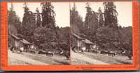 5021 - Glenwood Magnetic Springs, Santa Cruz Co., Cal., Hubertユ& Luff, Proprietors.