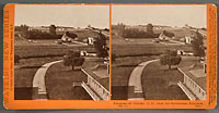 5264 - Panorama of Victoria, (B.C.). from the Gov't Buildings, No. 1.