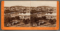 5272 - Panorama of Victoria, (B.C.), from the Gov't Buildings. No. 9.
