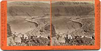 E28 - Chinese Camp at the Head of the Dalles, Col. Riv. Scenery, Ogn