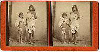 Unnumbered - Modesty and her daughter.  Indians of Arizona and New Mexico.