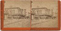 Geary St., Park and Ocean Railroad Crossing Larkin St, R. R. Constructed by W. Eppelsheimer and operated under his patents.
