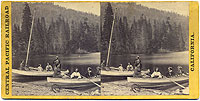 #128 - Boating Party on Donner Lake