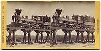 135 - Locomotive on Trestle