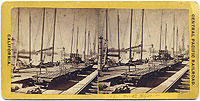 234 - Railroad Wharves at Sacramento City