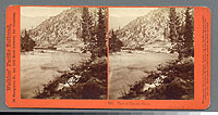 266 - View of the Truckee River. Near Camp 24