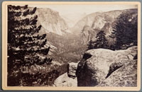 Unnumbered - The Yosemite Valley, from the Mariposa Trail