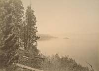 1004 - Lake Tahoe, View from Artists' Rocks, Placer County