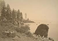 1006 - Lake Tahoe, View from Warm Springs, Placer County