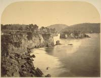 184 - Bay View with Residence of Mr. Freundt, City of Mendocino