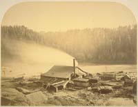 166 - The Big River Mill, Back End, Big River, City of Mendocino