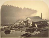 167 - The Big River Mill, Back End, City of Mendocino