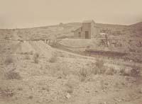 1309 - Hoisting Works, Northwest Shaft, Tough-Nut Mine, Arizona Territory