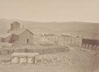 1314 - Contention Hoisting Works and Ore Dump, Town of Tombstone, Arizona Territory