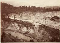 517 - Malakoff Diggings, Looking Northeast, near North Bloomfield, Nevada County