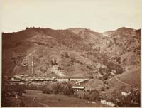 127 - Smelting Works, Old Road, and Mine, New Almaden