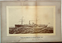 Unnumbered - Pacific Coast Steamship Company's Steamer Orizaba, 1877