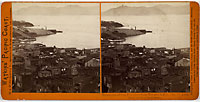 1339 - Panorama of San Francisco from Telegraph Hill (No. 2). Lime Point in the Distance