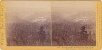 1815 - Humbug Canyon from Henness Pass Grade, North Bloomfield.  N. Bloomfield Gravel M. Co.