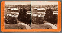 5274 - Panorama of Victoria. (B.C.). from the Gov't Buildings, No. 11.